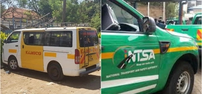 NTSA impounds matatu,arrests driver and tout for throwing child out of moving vehicle