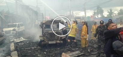 A dark day in Bocaue: Overwhelming trail of death and destruction follow fireworks market explosions