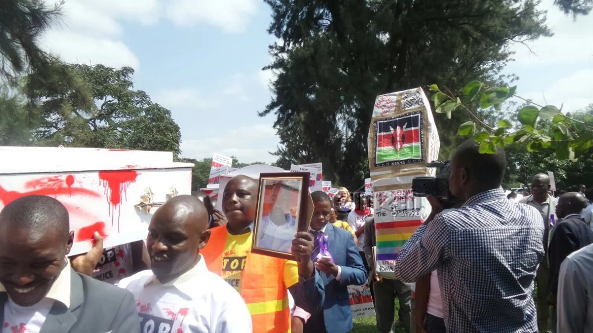 Lawyers hold protests against Willie Kimani's murder (photos)