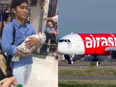 Netizen outraged by Air Asia's rude customer service for accommodating passenger with infant