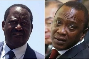 Raila talks tough, speaks of tough consequences for Uhuru for harassing Joho