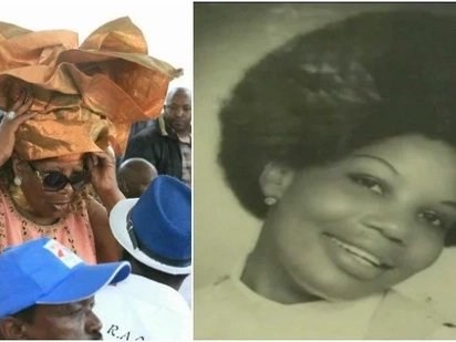 Never seen before photos of Orie Rogo Manduli without her legendary head-wrap