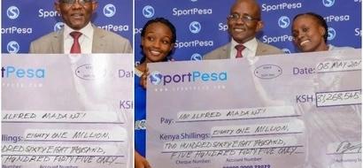 Mshindi wa KSh 81 MILIONI za SportPesa afanya kitendo cha KUCHEKESHA mno