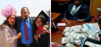 Mike Sonko shocks his wife days after moving a step closer to becoming Nairobi governor