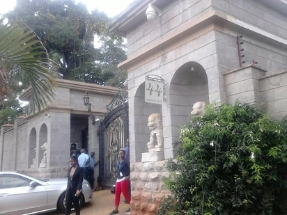 Exclusive photos of inside the palatial homestead of NASA billionaire financier Jimmy Wanjigi