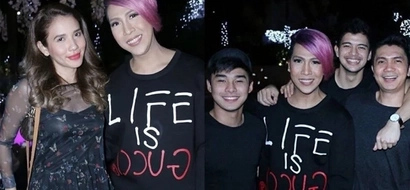 Vice Ganda parties with other stars days before Christmas