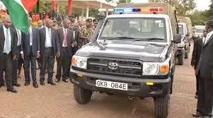 Mkuu wa polisi anasurika kifo baada ya kujipiga risasi kichwani
