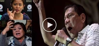 Concerned Nancy Binay defends De Lima against Duterte's 'below the belt' attacks