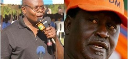 Paul Otuoma amshtua Sospeter Ojaamong kutokana na tendo hili