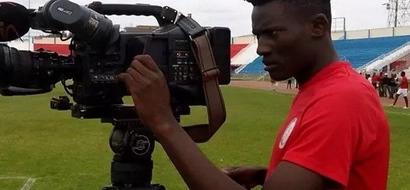 See Who Has Offered To Pay Gor Mahia Striker Michael Olunga's University Fees