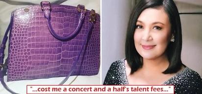 Sobrang ganda kaya! Sharon Cuneta shows off her P2M worth handbag and it's not Hermes Birkin!