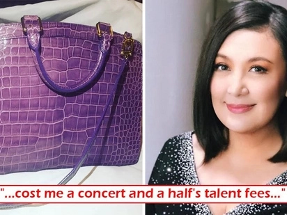Sobrang ganda kaya! Sharon Cuneta shows off her P2M worth handbag and it's not Hermes Birkin!