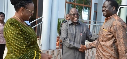 Raila meets Magufuli ahead of Uhuru's swearing-in