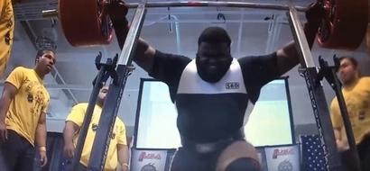 Man As Strong As A Bulldozer Sets World Strength Record