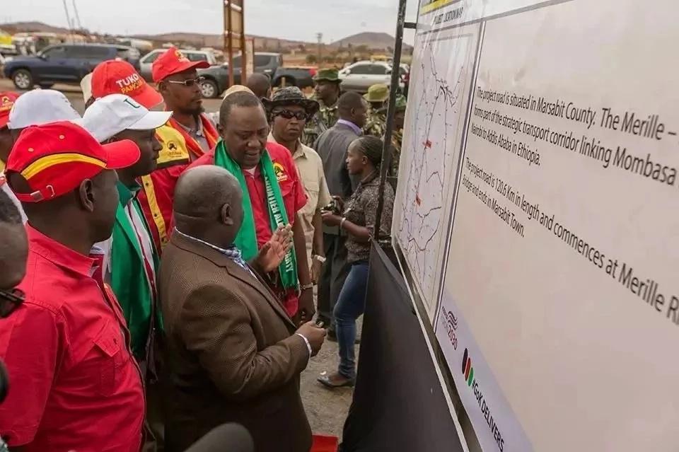 Uhuru avutia Marsabit kwa miradi ya mabilioni ya fedha