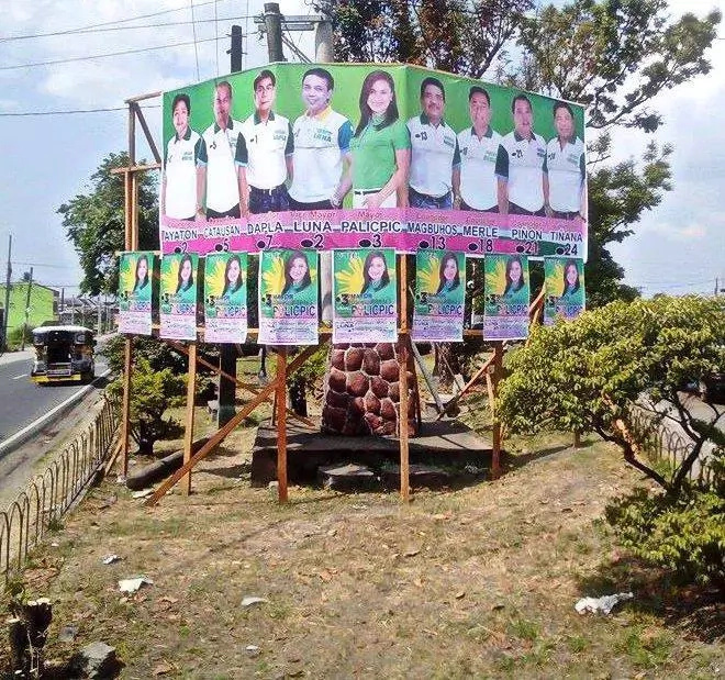 Criticism On Campaign Posters Leads To Its Removal