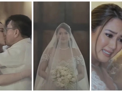 Pang teleserye sa ganda! Wedding Video of PBB housemate Niña Jose and Bayambang Pangasinan Mayor Cezar