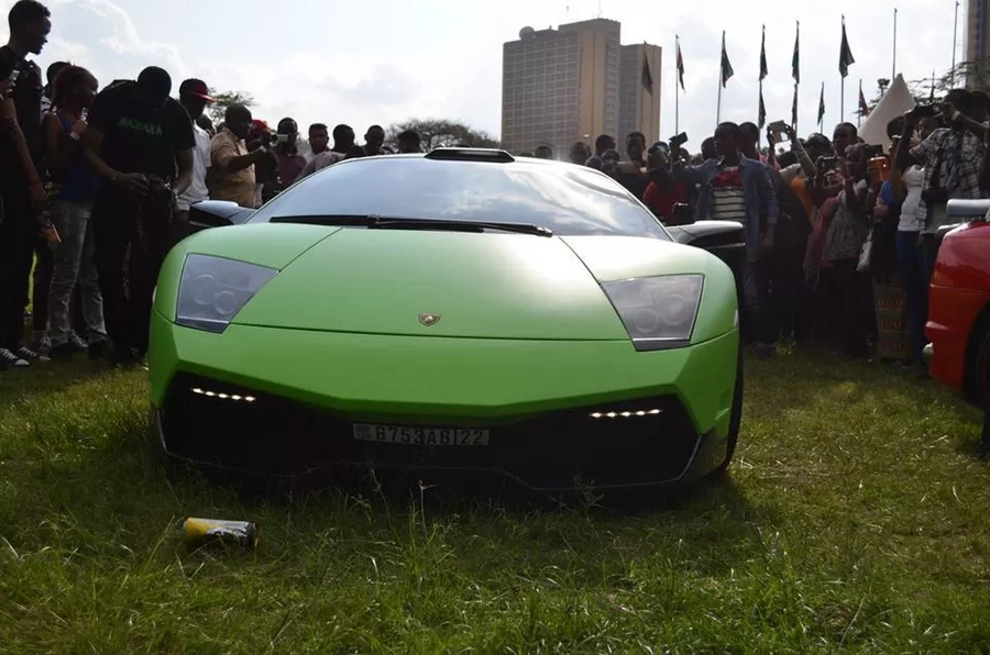 Photos of the couple who own B-club where Kenya's rich party