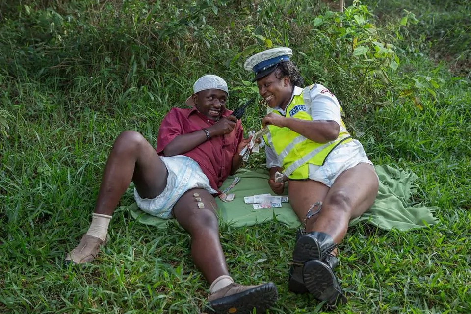Kenyans in diapers to protest reckless driving