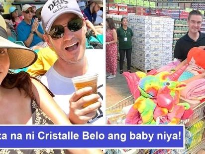 Guwapito ang apo ni Vicki Belo! Cristalle Belo ipinakita ang 4D ultrasound ng kanyang baby boy