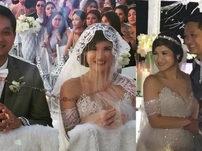 Forever na 'to! Camille Prats marries businessman VJ Yambao