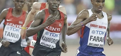Kenyans set to battle the Briton in the Cardiff hard-fight on Sunday