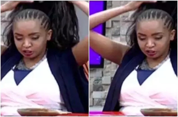 Popular TV presenter removes her wig on air and she looks weird (photos)