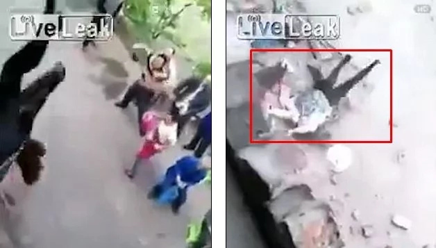Prank gone wrong! Five people injured at wedding after balcony collapses (photos, video)