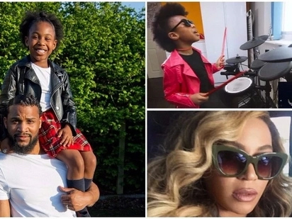 Beyonce approves! Talented girl, 7, wins praise from Beyonce's drummer for rendition of 'Freedom'