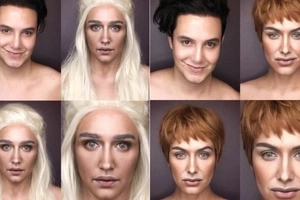 The many faced man! Paolo Ballestros' magnificent Game of Thrones makeup transformations are spot on