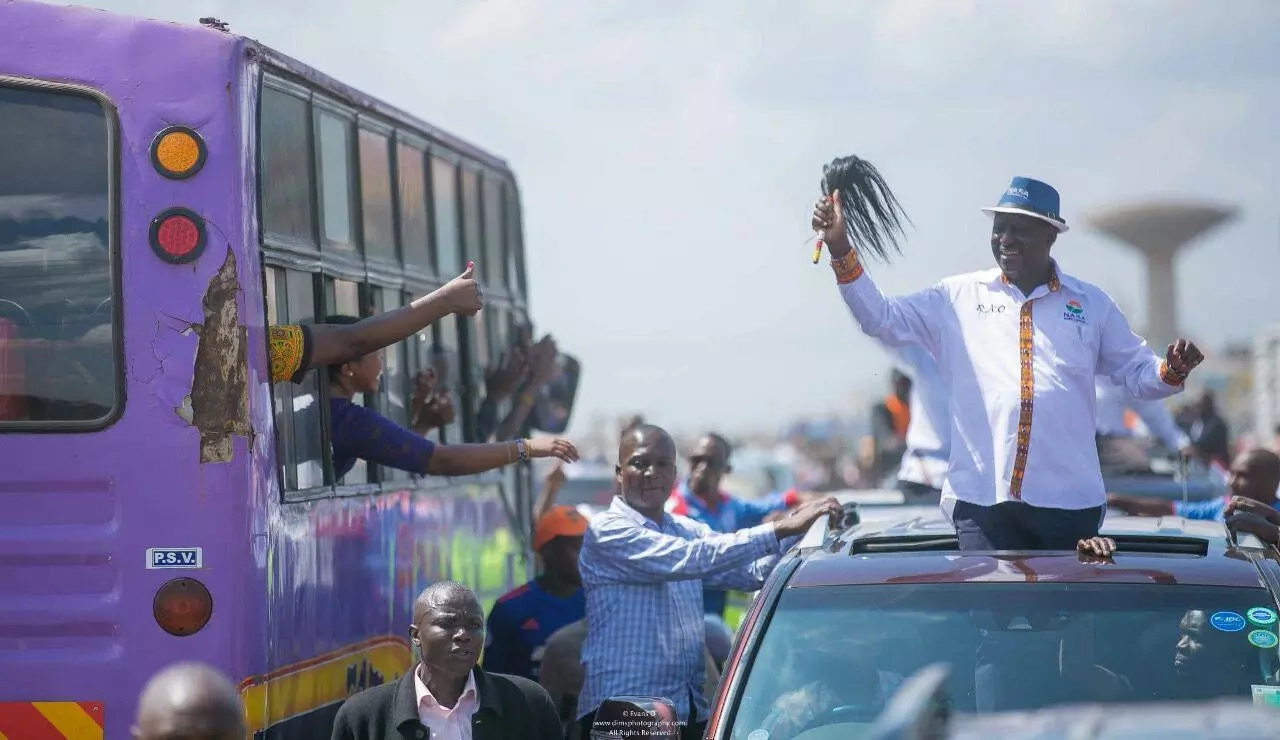 Kenyan opposition candidate approved for poll after challenger withdraws