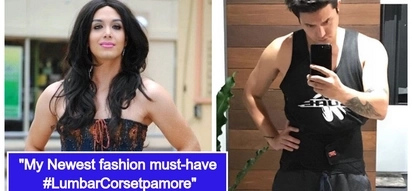 Paolo Ballesteros, na-diagnose na may slipped disc,ginawang fashion statement ang pagsusuot ng lumbar corset