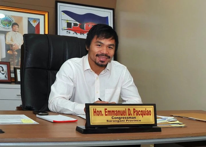Senator duties prioritized over incoming fight, Pacman says