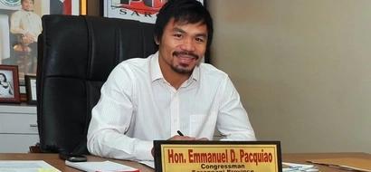 Pacquiao champions 4 laws as congressman