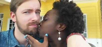 Just 15 photos of Wendy Kimani and her exotic boyfriend that will give you hope in interracial LOVE