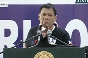 Nagbiro na naman siya! Witty Duterte says there are no beautiful women in devastated Isabela