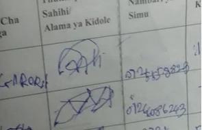 CORD defends funny Okoa Kenya signatures