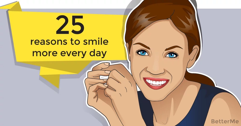 25 reasons to smile more every day