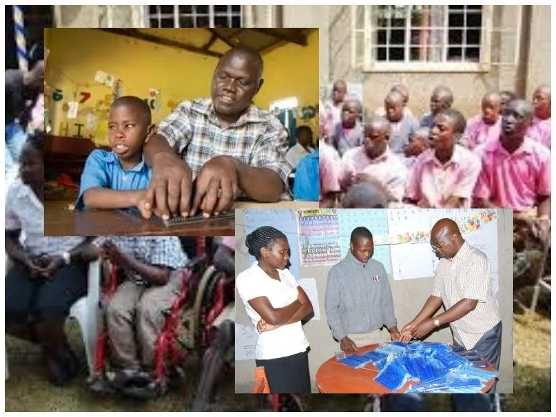 This man used to be afraid of disabled people because they look different, now he is their godfather (photos)