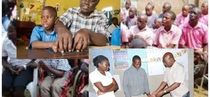 This man used to be scared of disabled people, now he is their godfather (photos)