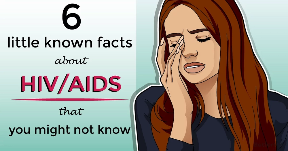 6 little-known facts about HIV/AIDS that you might not know