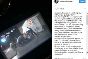 Head slam accident video of Daniel Matsunaga has boosted his charisma.