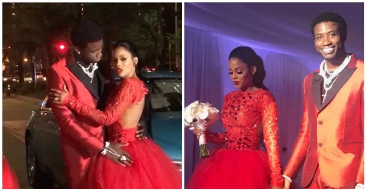 Rapper Gucci Mane surprises wife with N108m wedding present, throws lavish wedding ceremony on live TV