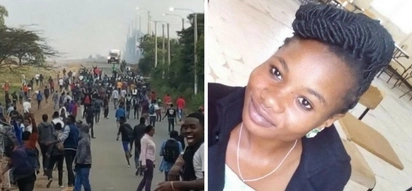Chaos at Multimedia university after student dies only 3 weeks after admission (Photos)
