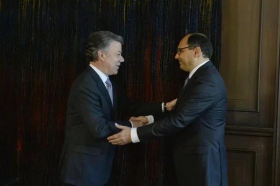 Embajadores colombianos en Italia y República Dominicana