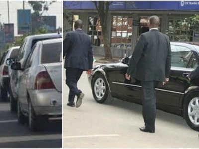 Special police squad arrest Uhuru's 'dirty' bodyguard together with CEO fleeing Kenya (photos)
