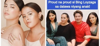 Pinagpala sila! Bing Loyzaga & Janno Gibbs are both extremely proud of their 2 daughters