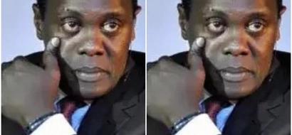 Hutaamini macho yako, huyu ni mtangazaji wa Citizen TV JEFF KOINANGE akiwa miaka 3 (picha)