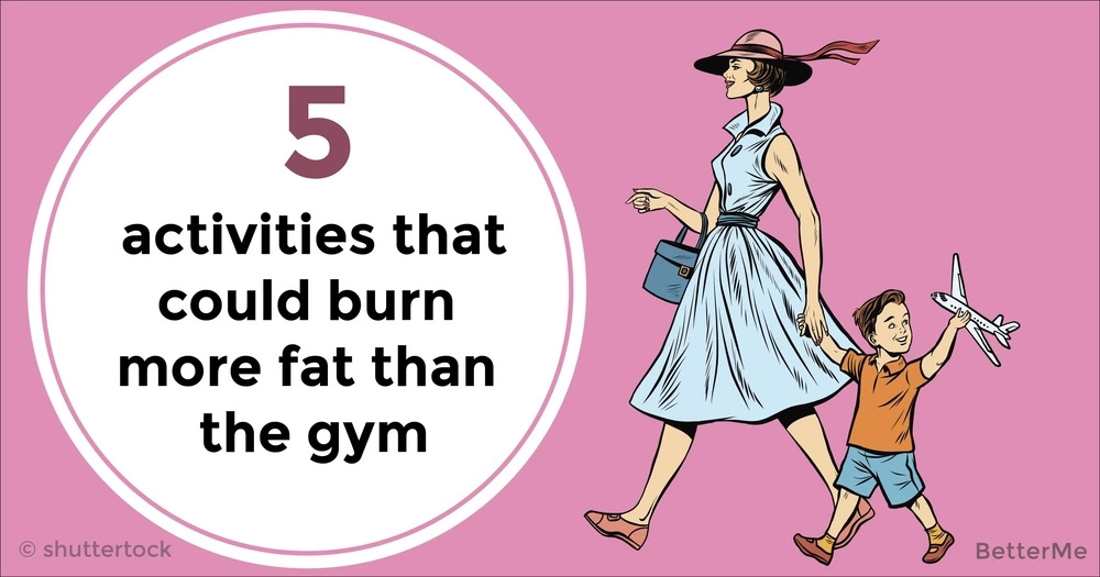 The top 5 activities that could burn more fat than the gym
