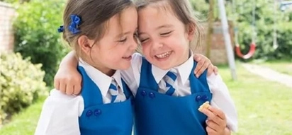 MIRACLE: Girls were born as conjoined twins, but now these cuties are ready to go to school!